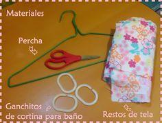 DIY... Colgador de collares con una percha!!! | Aprender manualidades es facilisimo.com
