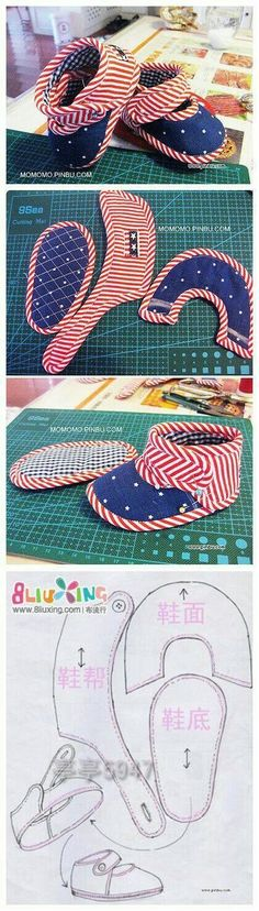 Yellow Fish by Hand - American Baby Shoes Tutorials and Pattern . - Nhen -New Yellow Fish by Hand - American Baby Shoes Tutorials and Pattern . Baby Patterns, Doll Patterns, Sewing Patterns, Purse Patterns, Sewing Tutorials, Sewing Crafts, Sewing Projects, Sewing Ideas, Sewing Baby Clothes