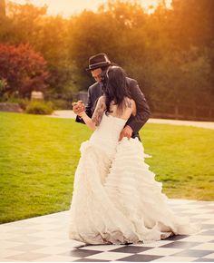 A Rockabilly Wedding: Kary + Josh Wedding Music, Wedding Pics, On Your Wedding Day, Wedding Dresses, Wedding Ideas, Bridesmaid Gowns, Summer Wedding, Wedding Reception, Wedding Stuff