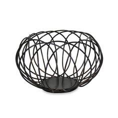 Mesa Kaleidoscope Fruit Basket in Antique Black - Bed Bath and Beyond $30