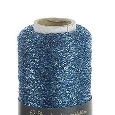 This fine strand of metallic polyester is usually knitted in combination with other yarns, to add sparkle to your knits and bring a festive touch to all your designs. Le Grand Bleu, Yarns, Knitting, Tv Shopping, Embroidery, Tricot, Breien, Weaving, Stricken