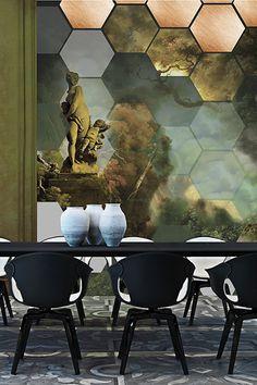 Modern Rococo Wallpaper