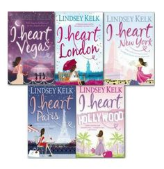 The I Heart Series - Lindsey Kelk. These are my ultimate holiday, lounge by the pool reads. I adore them. Absolutely hilarious. I can't wait to get I Heart Christmas which was released yesterday!