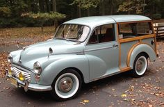 1971 Morris Minor Traveller : Registry : The AutoShrine Network Morris Minor, Morris Traveller, Ford Sierra, Ford Classic Cars, Engine Types, Station Wagon, Woodworking Projects Plans, Cool Trucks, Old Cars