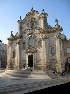 San Francesco church ~ Matera, Italy