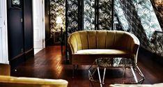 Velvet Goldmine: Maximalist Glamour at Hôtel Providence in Paris - Remodelista Restaurant Design, Design Hotel, Design Design, Design Trends, 2017 Design, News Design, Design Ideas, Velvet Goldmine, Luxury Furniture