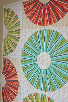 Lifesavers mini quilt by freshlypieced, via Flickr    mom gave me one of these rulers