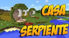 COMO HACER UNA CASA SERPIENTE: Construccion En Minecraft