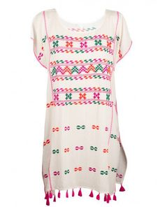 Star Mela Tassie Embroidered Kaftan reduced from $213 to $148