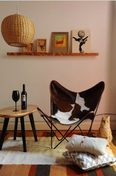 Estilismo:Ana Markarian.Fotos:Pompi Gutnisky. Butterfly Chair, Furniture, Home Decor, Home, Pictures, Decoration Home, Room Decor, Home Furnishings, Home Interior Design