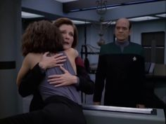 Captain Janeway, B'Elanna and the Doctor - Barge of the Dead