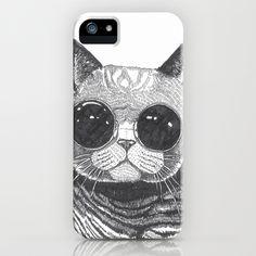 cool cat iPhone & iPod Case