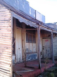Abandoned general store, Hamilton, South Australia