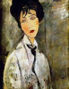 Modigliani - Woman with tie