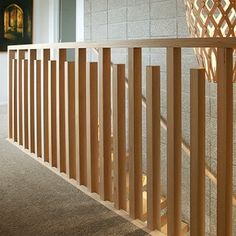 Home Exterior: Possible modern railing to replace roman columns on patio. Exterior Stair Railing, Wood Railings For Stairs, Indoor Railing, Modern Stair Railing, Wrought Iron Stair Railing, Steel Stairs, Stair Handrail, Modern Stairs, Handrail Ideas
