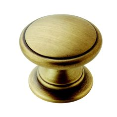 Amerock Traditional 1.25-Inch Gilded Bronze Cabinet Knob (Pack of 5)