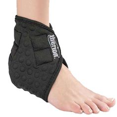 Therion Magnetics OS402 Balance Magnetic Ankle Brace at Unique Fitness Concepts  The Balance Magnetic Ankle Brace helps reduce ankle swelling, tenderness and bruising. It provides excellent pain relief for ankle sprains, and can help speed up recovery time from injury. Eight strategically placed 4,300 gauss ceramic magnets surround the entire ankle. These powerful magnetic fields enter the ankle from several different angles, to more effectively ease pain and reducing swelling.