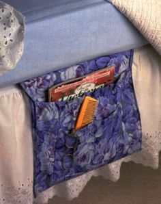 DIY Bedside caddy
