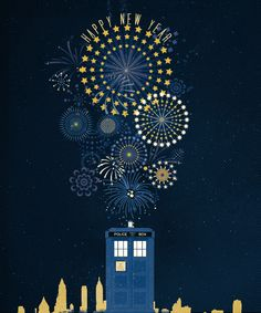 Happy New Year! #DoctorWho style