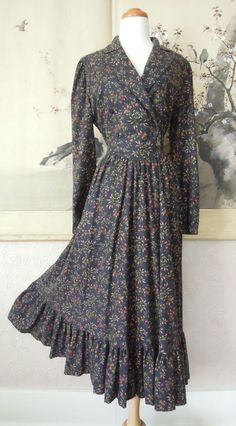 NWT Laura Ashley Vintage Fine Needlecord Victorian Riding Dress UK 14 US 10 #LauraAshley #Any