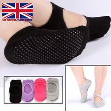 1cf5bf4a7 Stylish Women Cotton Socks Yoga Barre Socks Non Slip Skid Barre Pilates  Ballet