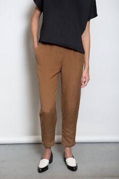 First Rite Amber Ankle Trouser Front