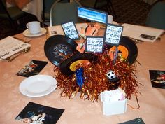 class reunion centerpieces | These are photos of the reunion centerpieces. Click on any image for a ...
