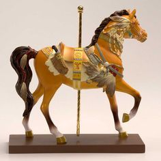 Native Dancer Painted Pony From Tribal Impressions- Review off of: http://www.indianvillagemall.com/statue/ppnativedancer.html    You can review the complete line of Painted Ponies -watch some videos about them and learn their history off of: http://www.indianvillagemall.com/statue/ppmenu.html