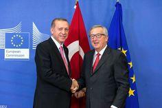 """Juncker: Nazivergleiche türkischer Spitzenpolitiker sind eine """"Frechheit"""""""