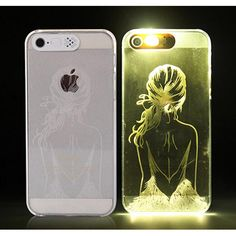 afac5145b35 Fashion LED Flashing Phone Case Cover For iPhone 5 5S Random Delivery  Delivery