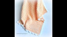 Baby Blanket Crochet, Crochet Baby, Knitted Hats, Velvet, Knitting, Free, Youtube, Fashion, Moda