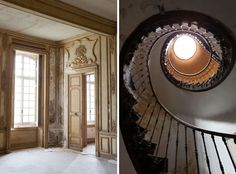 A Couple Bought An Abandoned French Chateau From The 1700s. This Is What They Found Inside.