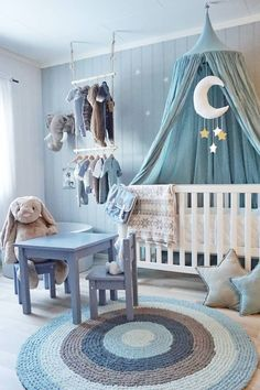 Baby Boy Room Ideas - Designing a boy nursery seems to be an overwhelming task. When you choose the best baby boy room ideas, multiple color Baby Boy Room Decor, Baby Room Design, Baby Bedroom, Baby Boy Rooms, Baby Boy Nurseries, Baby Cribs, Nursery Room, Girl Room, Kids Bedroom