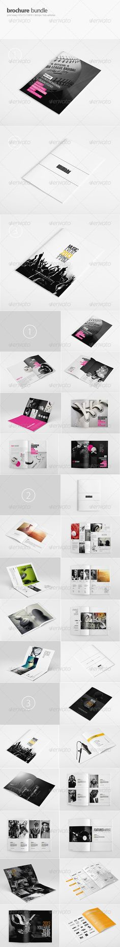 Music Event Brochure  Brochures Fonts And Print Templates