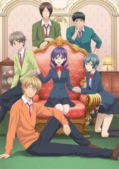 Funimation Reveals English Dub Cast for Kiss Him, Not Me Anime