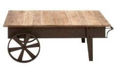 Country Style Coffee Table By Coaster Furniture   French Country Home Decor
