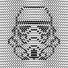 Molina – Graphs for the hapeless fiber artist Knitting Machine Patterns, Knitting Charts, Loom Knitting, Stitch Patterns, Knitting Patterns, Kawaii Cross Stitch, Small Cross Stitch, Star Wars Crafts, Pixel Pattern