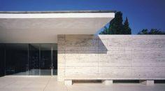 Pavillon de Mies Van der Rohe. Barcelone © Pepo Segura. Fundación Mies van der Rohe