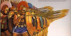 Hoplite Shield Wall Abstract Sculpture, Sculpture Art, Metal Sculptures, Bronze Sculpture, Ancient Art, Ancient History, Greek Warrior, Frank Morrison, Greek History