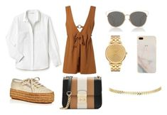 """""""#5"""" by chavelles on Polyvore featuring Lacoste, Superga, MICHAEL Michael Kors, Christian Dior and Nixon"""