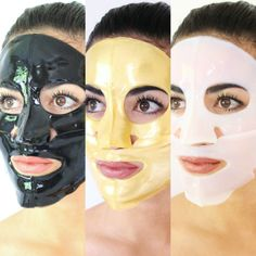 3 Day Skin Detox with Collagen Gel Masks // www.shospaluxe.com