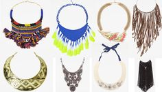 Los maxi collares están de moda