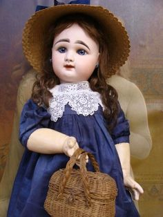 Sweet antique Rabery Delphieu Bebe from a-sunday-in-the-attic on Ruby Lane