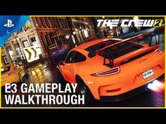 [Video] The Crew 2 - Motorsports Gameplay PS4 Walkthrough | E3 2017 #Playstation4 #PS4 #Sony #videogames #playstation #gamer #games #gaming