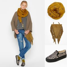 Couleurs Automne  #HIPPIESTYLE http://www.nicoli.fr/boutique/Look-54-20150254-mca.html