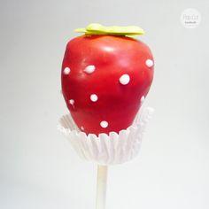 Cake Pop Erdbeere