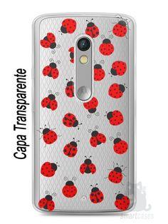 Capa Capinha Moto X Play Joaninhas #1 - SmartCases - Acessórios para celulares e tablets :)