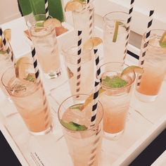 Cocktails celebrating @katespadeny launch with @visualcomfortco ... Even her cocktails are beautiful!#katespade #hpmkt2015 #hpmkt
