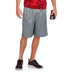 Russell Big Men's Interlock Shorts, Size: 3XL, Gray