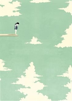 There are days where I really feel like this.    Mono Shout by alessandro gottardo